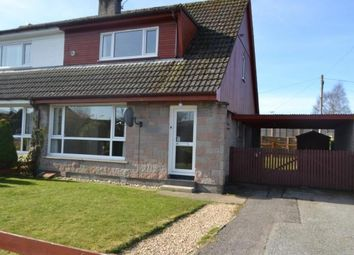 Thumbnail 3 bed semi-detached house for sale in 34 Thornhill Crescent, Forres