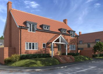 Thumbnail 2 bed semi-detached house for sale in Monks Eleigh, Ipswich, Suffolk