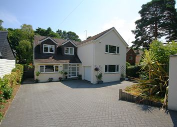 Thumbnail 4 bed detached house for sale in Compton Avenue, Lower Parkstone, Poole