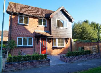 Thumbnail 4 bed detached house for sale in Benedict Close, Romsey