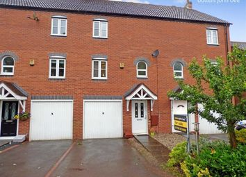 Thumbnail 3 bed town house for sale in Saltersford Rise, Stone, Staffordshire