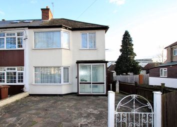 Thumbnail 3 bed semi-detached house for sale in Hooking Green, North Harrow, Harrow