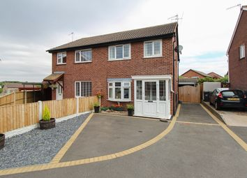 Thumbnail 3 bed semi-detached house for sale in Horsley Close, Linacre Woods, Chesterfield