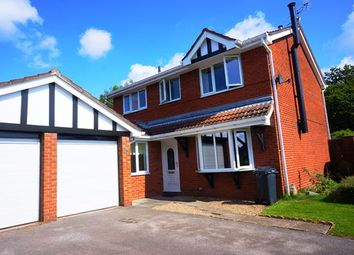 Thumbnail 4 bed detached house to rent in Bramble Close, Winsford
