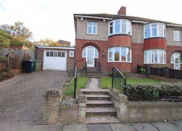 Thumbnail 3 bed semi-detached house for sale in Nilverton Avenue, Ashbrooke Range, Sunderland