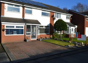 Thumbnail 4 bedroom semi-detached house for sale in Wilkin Croft, Cheadle Hulme, Cheadle, Greater Manchester