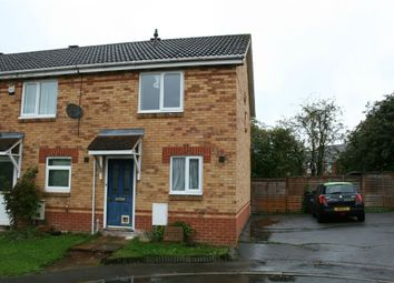 Thumbnail 2 bed end terrace house to rent in Sandringham Close, Wellingborough, Northamptonshire