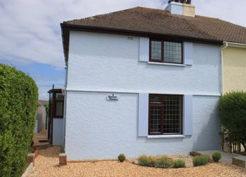 Thumbnail 3 bed semi-detached house to rent in Dawney Terrace, Crafthole, Torpoint
