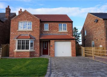 Thumbnail 4 bed detached house for sale in Dixon Close, Keelby, Grimsby