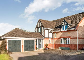 Thumbnail 4 bed detached house for sale in Laywood Close, Bury St. Edmunds