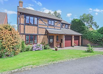 Thumbnail 5 bed detached house for sale in Burnaston Crescent, Shirley, Solihull