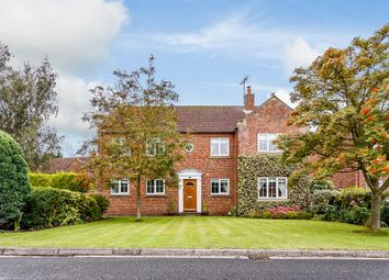 Thumbnail 5 bedroom detached house for sale in Escrick Park Gardens, Escrick, York