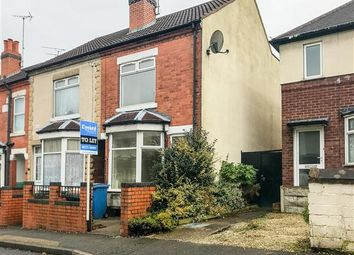 Thumbnail 3 bed end terrace house to rent in Redcliffe Road, Mansfield
