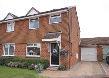 Thumbnail 3 bed semi-detached house for sale in St. Johns Close, Northallerton