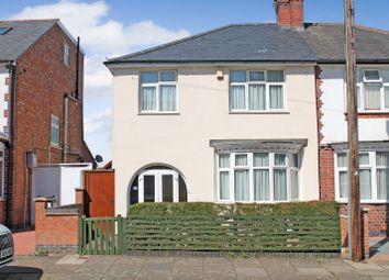 Thumbnail 4 bed semi-detached house for sale in Kimberley Road, Evington, Leicester