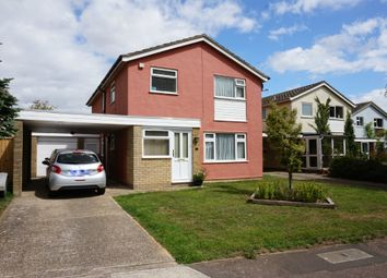 Thumbnail 4 bed detached house for sale in Richardsons Road, East Bergholt, Colchester, Suffolk