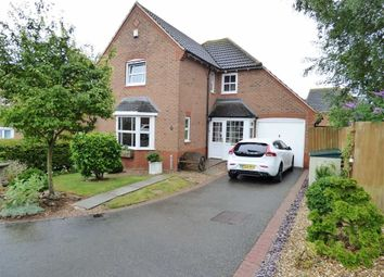 Thumbnail 4 bed detached house for sale in Rowallen Way, Daventry