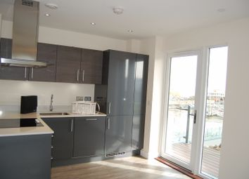 Thumbnail 1 bed flat for sale in West Tower Pearl Lane, Gillingham