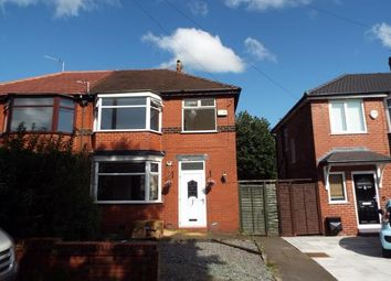 Thumbnail 3 bed semi-detached house for sale in Pine Avenue, Manchester, Greater Manchester