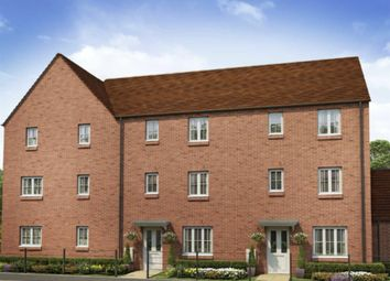 "Thumbnail 4 bed terraced house for sale in ""The Wolvesey"" at Whitelands Way, Bicester"