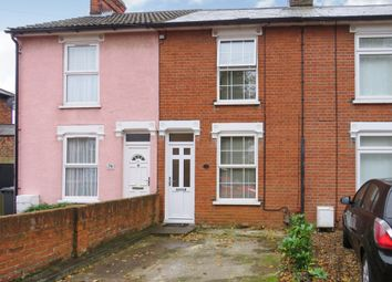 Thumbnail 2 bed terraced house for sale in Freehold Road, Ipswich