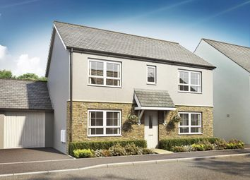 "Thumbnail 4 bed detached house for sale in ""Thornton"" at Kimlers Way, St. Martin, Looe"