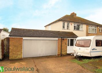 Thumbnail 3 bed semi-detached house for sale in Old Watling Street, Flamstead, St. Albans