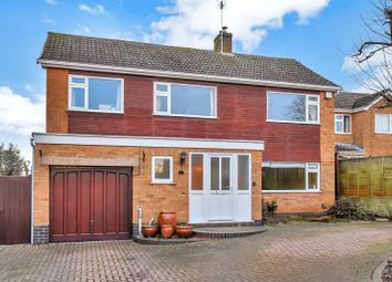 Thumbnail 4 bed detached house for sale in Bleakmoor Close, Rearsby, Leicester