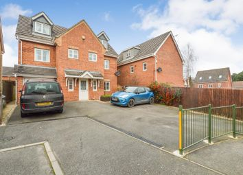 Thumbnail 5 bed detached house for sale in Cardinal Way, Clipstone Village, Mansfield
