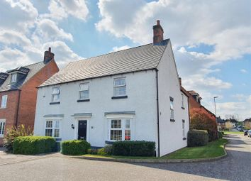 Thumbnail 4 bed detached house for sale in Edward Phillipps Road, Hathern, Leicestershire