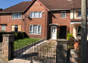 Thumbnail 3 bed terraced house to rent in Valley Road, Walsall