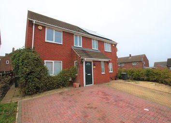 Thumbnail 3 bed semi-detached house to rent in Canberra Road, Shortstown, Bedford