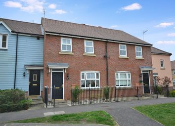 Thumbnail 3 bedroom terraced house for sale in Cromwell Road, Flitch Green, Dunmow