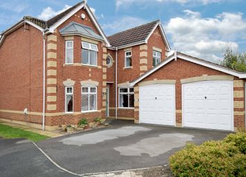Thumbnail 4 bed detached house for sale in Carnoustie Gardens, Normanton, West Yorkshire