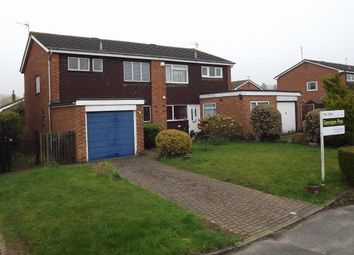 Thumbnail 3 bed semi-detached house for sale in Oakley, Hampshire