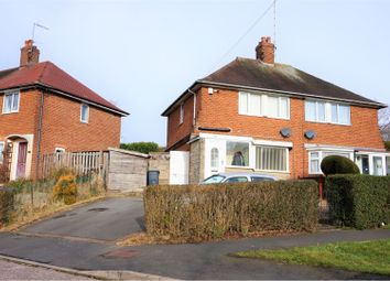 Thumbnail 3 bed semi-detached house for sale in Overdale Road, Birmingham