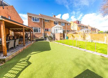 Thumbnail 4 bed semi-detached house for sale in Hinton Crescent, Hempstead, Gillingham, Kent
