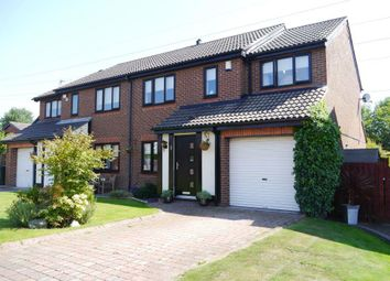Thumbnail 4 bed semi-detached house for sale in Monkridge, Abbey Farm, North Walbottle, Newcastle Upon Tyne