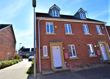 Thumbnail 3 bed semi-detached house for sale in Ripley Road, Broughton, Milton Keynes