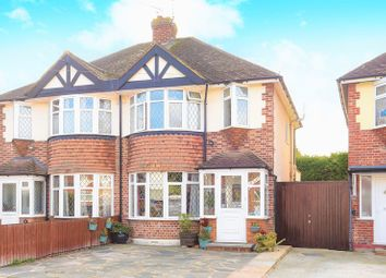 Thumbnail 3 bed semi-detached house for sale in Romney Close, Chessington