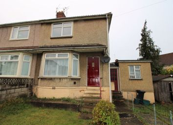 Thumbnail 2 bed semi-detached house to rent in Burnham Drive, Kingswood, Bristol
