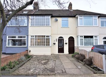 Thumbnail 3 bed terraced house for sale in Bridport Avenue, Romford