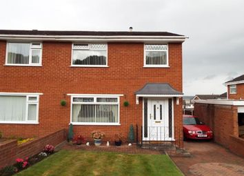 Thumbnail 3 bed semi-detached house for sale in Deans Close, Bagilt, Flintshire