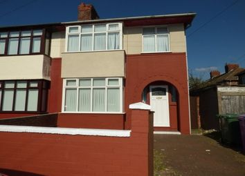 Thumbnail 3 bed property to rent in Lunar Road, Liverpool