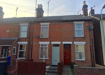 Thumbnail 2 bedroom terraced house for sale in Surbiton Road, Ipswich