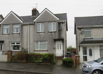 Thumbnail 3 bed semi-detached house for sale in Penybryn Avenue, Cefn Fforest, Blackwood