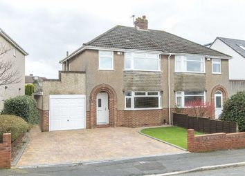 Thumbnail 3 bed semi-detached house for sale in Leap Valley Crescent, Downend, Bristol