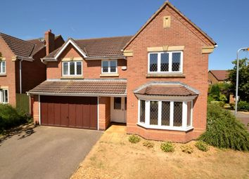 Thumbnail 4 bed detached house to rent in Portwey Close, Brixworth, Northampton