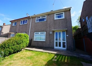 Thumbnail 3 bed semi-detached house for sale in Elm Drive, Risca, Newport, Caerphilly