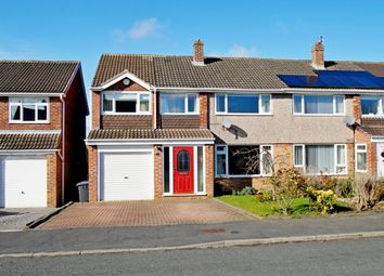 Thumbnail 4 bed semi-detached house for sale in Devonshire Road, Belmont, Durham